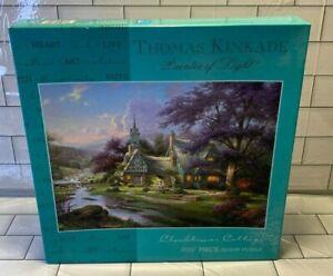 Thomas Kinkade Clocktower Cottage Puzzle Ceaco USA 1000 Pieces 2002 New 3310-27
