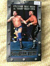 WCW Superbrawl VII 97 VHS Tested