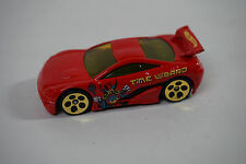 2002 Hot Wheels Yu-Gi-Oh! Seared Tuner # 2 Of 4 Time Wizard (Red) Loose