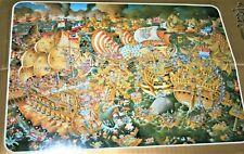 HEYE 8850 VERY RARE 4000 TRAFALGAR Jigsaw Puzzle, 1986, Missing poster.