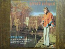 GERARD PALAPRAT EP FRANCE DOSTOIESVSKY