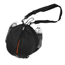 NBA Basketball Bag Soccer Ball Football Volleyball Softball Sports Ball Bag -BLK
