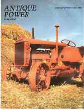 John Deere 830 tractor Allis Chalmers U - 1990 ANTIQUE POWER Magazine