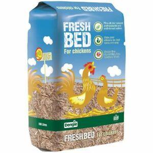 Dengie Fresh Bed Chopped Straw Chicken Hen Poultry Bedding 100l Approx. 15kg