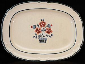 Large Stoneware by Hearthside Cumberland Platter Brambleberry Yamaka Japan