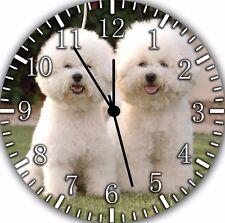 Bichon Frise Wall Clock F40