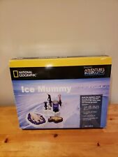 National Geographic Adventures In Exploring Ice Mummy Kit New Open Box.