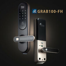 Fingerprint Doorlock Gateman GRAB-100FH Keyless Digital Doorlock Hook Pin+RFID