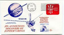 1979 Voyager One JPL Announces Discovery Jupiter's Ringgs Goldstone NASA USA SAT