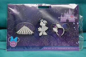 Minnie Mouse Main Attraction Space Mountain Pin Set
