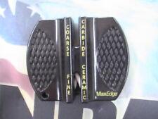 Knife Sharpener MaxEdge 2 Stone Knife Sharpener Tungsten Carbide & Ceramic