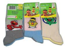 Pack 6 calcetines de sésamo/Sesame Street calle niños talla 31/34