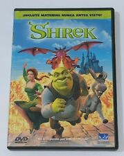 Shrek The Original Movie DVD - Animation Carton - Good Condition - Spanish Ver