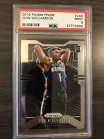2019-20 Panini Prizm Zion Williamson Rookie PSA 9 New Orleans Pelicans RC