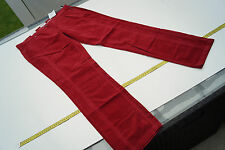 BRAX X & more Mette Damen Samt Feincord Hose Jeans stretch Gr.46 36/32 rot NEU