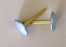 Paire de boutons de jugulaire casquette officier allemand WH LW élite - REPRO