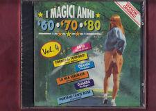 I MAGICI ANNI 60-70-80 VOL.4 CD NUOVO SIGILLATO