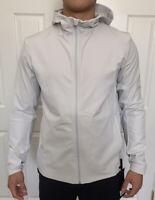 Lululemon Men Size L Warp Lite Jacket Packable Vapor VPOR Full Zip Hooded Vented