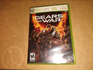Gears of War XBOX 360 Shooter (Video Game)