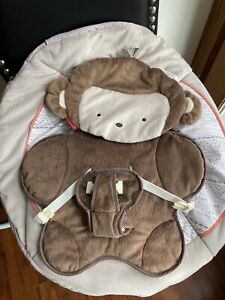 Fisher Price Little Snugamonkey Deluxe Bouncer Seat Cover Replacement Part EUC