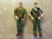 2 GI Joe Action Figures 1994 Hasbro Toys Soldiers