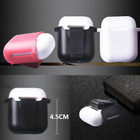 Pods Detachable Belt Clip Hardshell Protective Cover Skin Case for Apple AirPods
