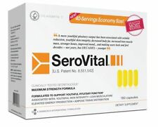 SeroVital NEW PREMIUM PACK Dietary Supplement 40 Day 160-caps  Exp 1/2019 SEALED