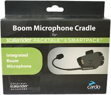 Cardo Packtalk Smartpack Schwanenhals Mikrofon für Motorradhelme schwarz