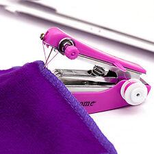 Portable Needlework Cordless Mini Hand-Held Clothes Fabrics Sewing Machine New