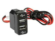 12/24V Max 3A Dash Dual USB Port Truck Charger Power Outlet for MAN TGM TGA TGL