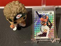 2020 Panini Mosaic Jerry Jeudy Rookie Silver Mosaic NFL Debut Prizm #267 Broncos