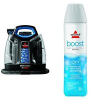 Bissell 5207F Carpet Cleaner Machine Spot Wave Heat Extractor Stain + Oxy Boost