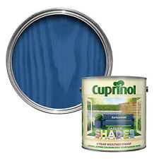 CUPRINOL GARDEN SHADES - BARLEY WOOD - 1 LITRE -  (125 ML TINS) Paint Sheds Wood