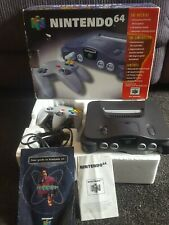 Nintendo 64 Console N64 Boxed  AUS PAL