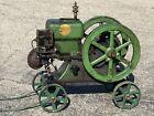 Barn Fresh Hercules 1 3/4 HP Hit Miss Gas Engine With Correct Cart And It Runs!!