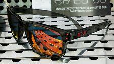 New Oakley 9244-04 HOLBROOK Asian Fit Sunglasses Gray Smoke w/Ruby Iridium Lens