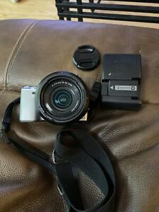 Sony NEX-5 digital camera w/ E 18-55mm lens, Flash, Sony Charger And Strap