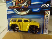 Hot Wheels Hummer H3 2005 First Editions Blings Yellow