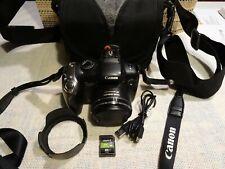 Canon PowerShot SX20 IS 12.1 MP -20x Opt.Zoom-HD Video - Schwarz + EXTRAS