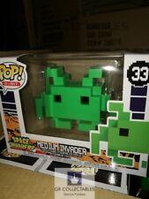 8-BIT Retro Space Invaders vert moyen FUNKO POP