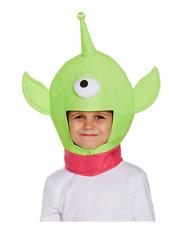 One Eyed Space Monster Alien Head Kids Boys Girls Toy Hat Story Fancy Dress New