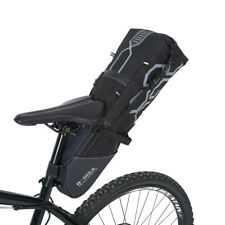 B-SOUL Large bike-packing-style 12L Seat Pack Saddle Bag universal new ZY