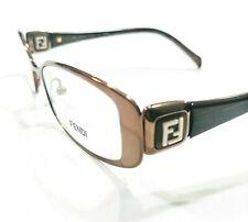 New Fendi Eyeglasses F901 901 copper 209 Authentic 50-18-135 w/case