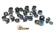 42x RS-Kugellager Tamiya Ford F-350 Toyota Tundra +Hilux Black sealed bearings