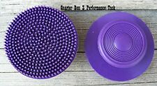 Curry - Soft Rubber Round Face (Purple)