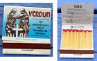 Pochette d'allumettes complète, 70e anniversaire de la bataille de Verdun, 1986
