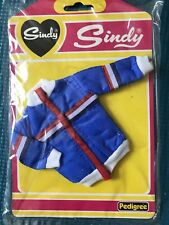 Sindy Doll Clothes Jacket Blue, Red, & White