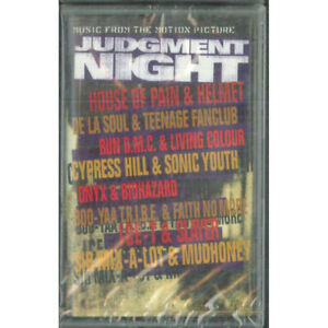AA.VV MC7 Judgment Night (Music From The Motion Picture) Epic 474183 4 Sigillata