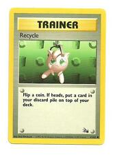 Recycle Pokemon Fossil Common Individual Card (61/62) - NM/M