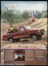 1984 FORD RANGER PICKUP advertisement, Ford Ranger Pickup Truck